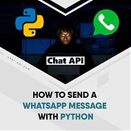 How to send a WhatsApp message in Python